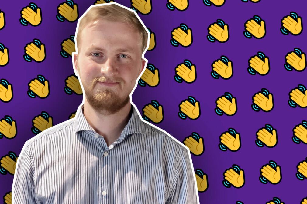 André Berge (24) er ansatt som utvikler Kraftlauget.