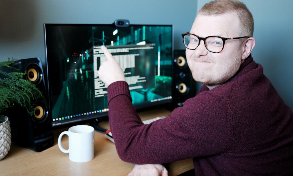 Jørgen har forsøkt å like Windows Terminal, men føler ikke han har bruk for den . 📸: Ole Petter Baugerød Stokke