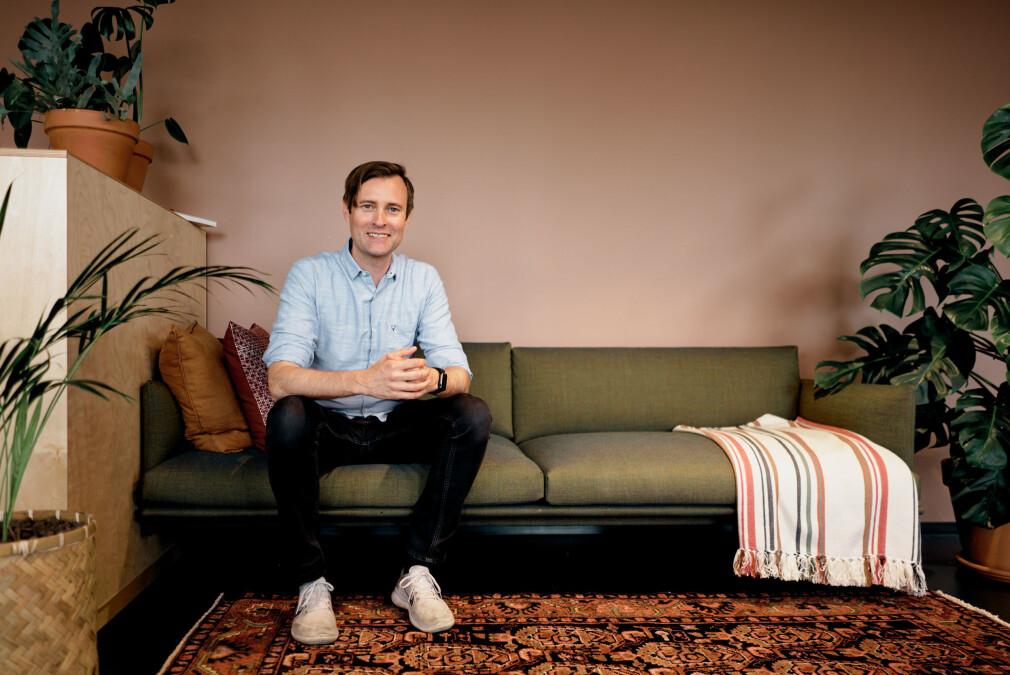 Sjur Bjørndalsæter (42) blir prosjektleder i Netlife. 📸: Jonas Driveklepp / Netlife