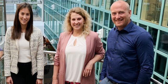 image: Marianne, Joanna og Joachim skal styrke Webstep på .NET
