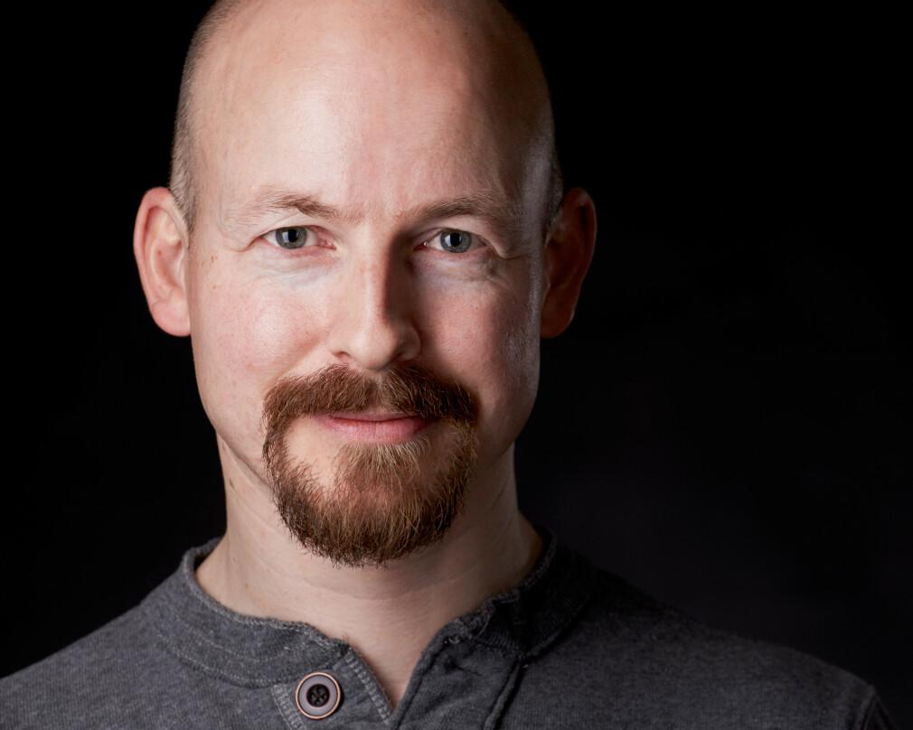 Thomas Kjeldahl Nilsson jobber som selvstendig utvikler, og er for tida på oppdrag for Vipps. 📸: Privat