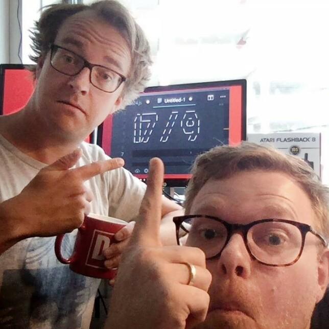 17. september 2018 lanserte vi kode24. Vi la ut dette bildet på Facebook for å love folk at vi faktisk kom på lufta den datoen. 📸: Ole Petter Baugerød Stokke