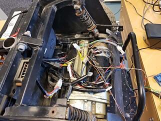 Motoren som driver el-olabilen. 📸: Privat