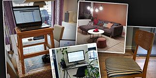 image: Hver tredje utvikler plages av møblene på hjemmekontoret