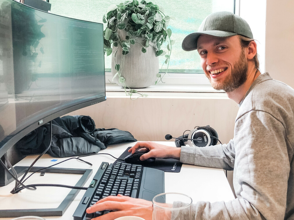 Balder Ulfeng har fått jobb som backend-utvikler i konsulentselskapet Epinova i Oslo.