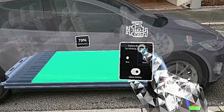 image: Utviklere kontrollerer Tesla med Microsoft Hololens