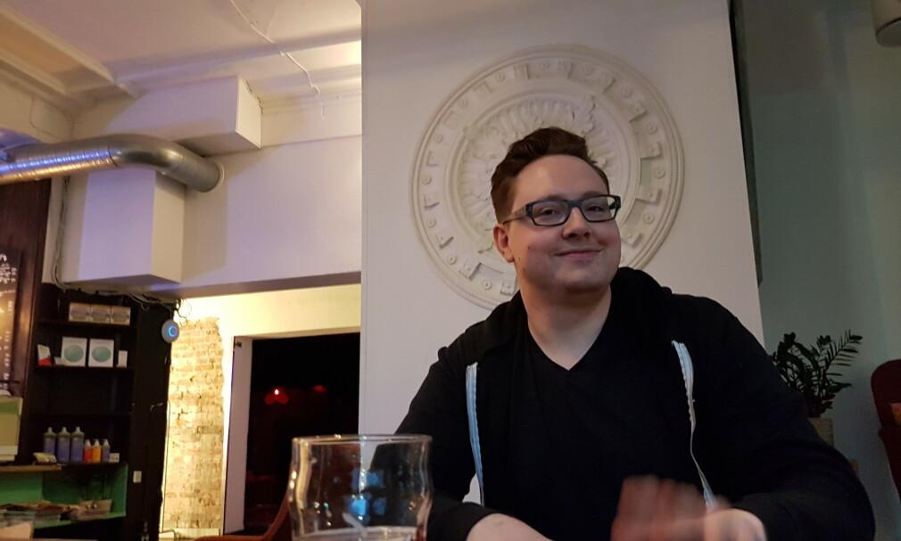 Carl Hedgren jobber som utvikler i Ava. 📸: Privat