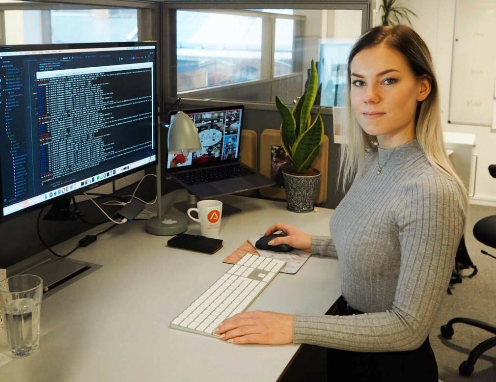Elise Kristiansen har sett nærmere på påstander om at biologien holder kvinner unna utvikleryrket. 📸: Privat