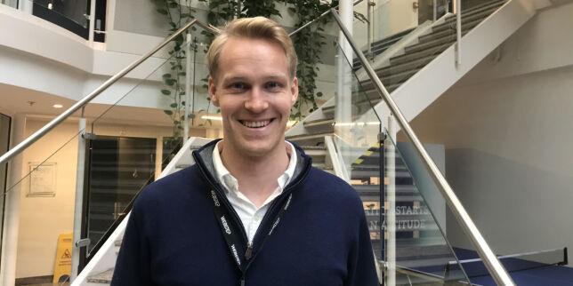 image: Markus blir Websteps nye sikkerhetsekspert