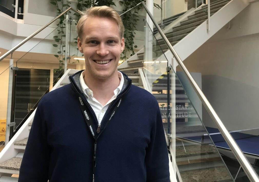Sikkerhetsekspert Markus Andersen starter i Webstep.