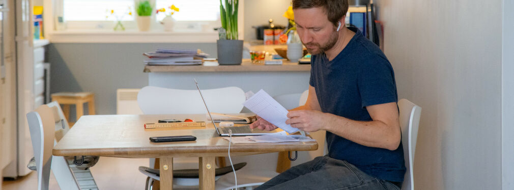 image: Unge utviklere minst effektive på hjemmekontor