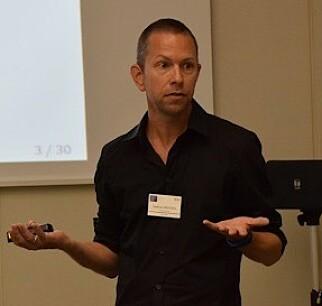 Professor Andreas Moxnes ved Økonomisk Institutt på Universitetet i Oslo. 📸: UIO