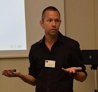 Andreas Moxnes ved Økonomisk Institutt på Universitetet i Oslo. 📸: UIO