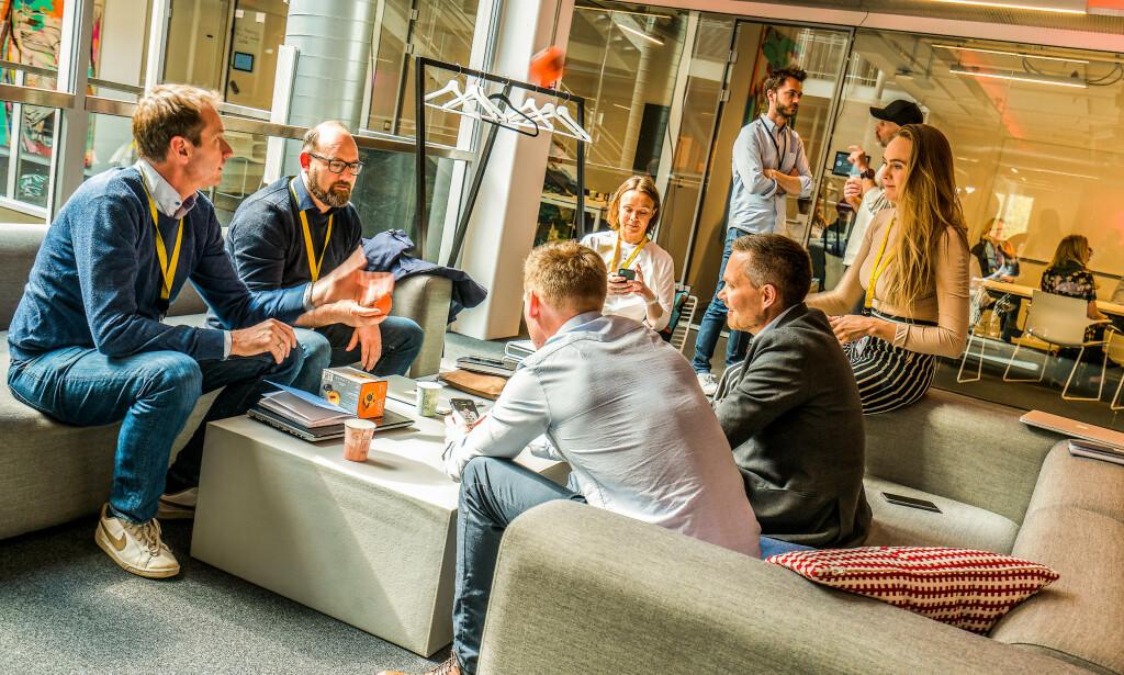 image: StartupLab selskaper søker ti-talls utviklere i Norge