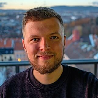 Seniorutvikler Nikolai Norman Andersen forteller hvordan Confrere takla koronatrafikken. 📸: Privat