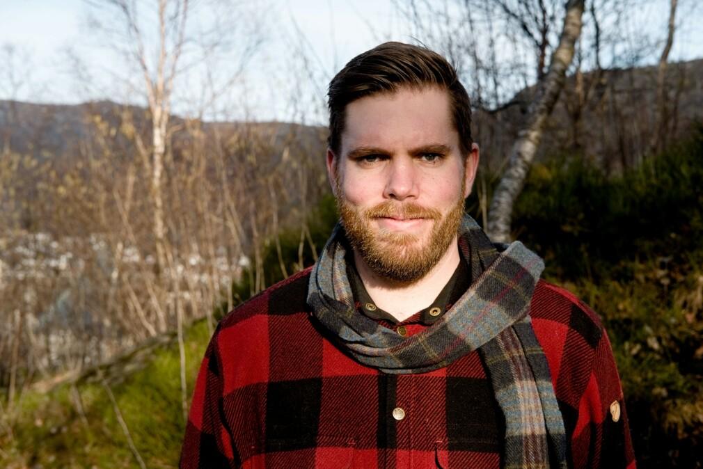 Nicolai Gjellestad har blitt delvis sykemeldt, etter å ha møtt veggen som utvikler. 📸: Privat