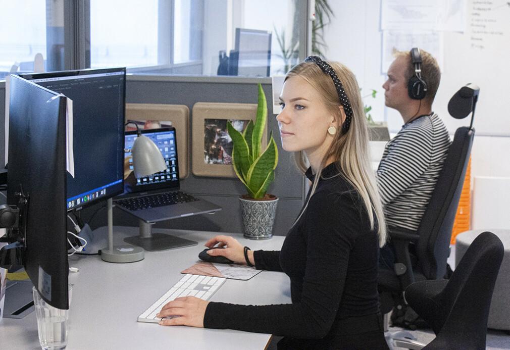Elise Kristiansen i Aplia vil få jobber fordi hun fortjener dem, ikke fordi hun er kvinne. 📸: Privat