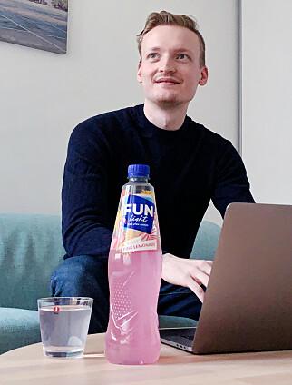 Pontus Edvard Aurdal står klar til å ta ned tjenesten om Finn ber om det. Men foreløpig har han ikke fått noe endelig svar. 📸: Privat