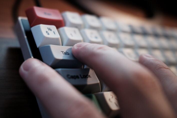 Naviger kun med tastatur for å avdekke blant annet dårlig HTML-struktur. 📸: Ole Petter Baugerød Stokke