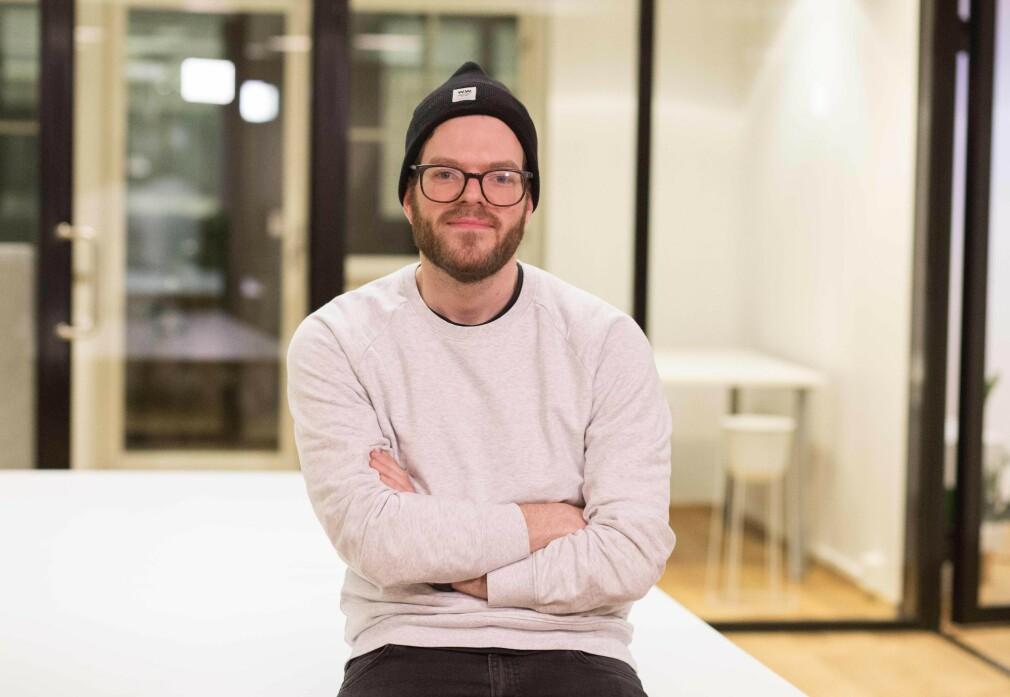 Anders Svendal er medstifter, utvikler og partner i Tight. Et selskap som starta med en allergiapp som først ble nekta utgivelse. 📸: Privat
