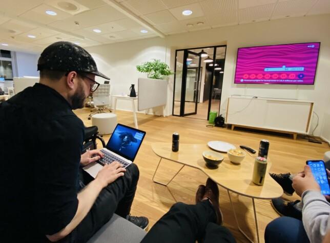 - Swift og Ruby er de to programmeringsspråkene jeg liker best, forteller Anders Svendal.  📸: Privat