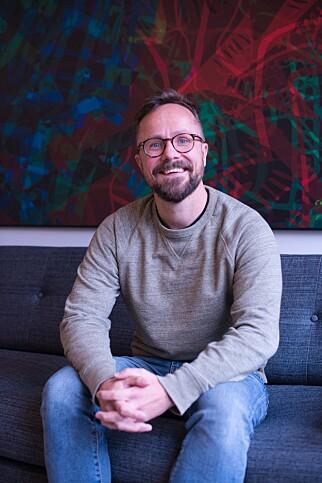 Teknolog og partner Gaute Magnussen i Boitano. 📸: Privat