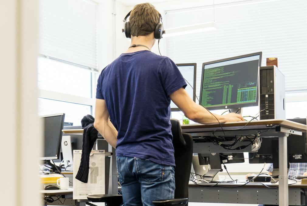 Utviklerne i Sparebank 1 vil gjøre mer spennende ting enn å støtte en gammel nettleser som Internet Explorer. 📸: Sparebank 1