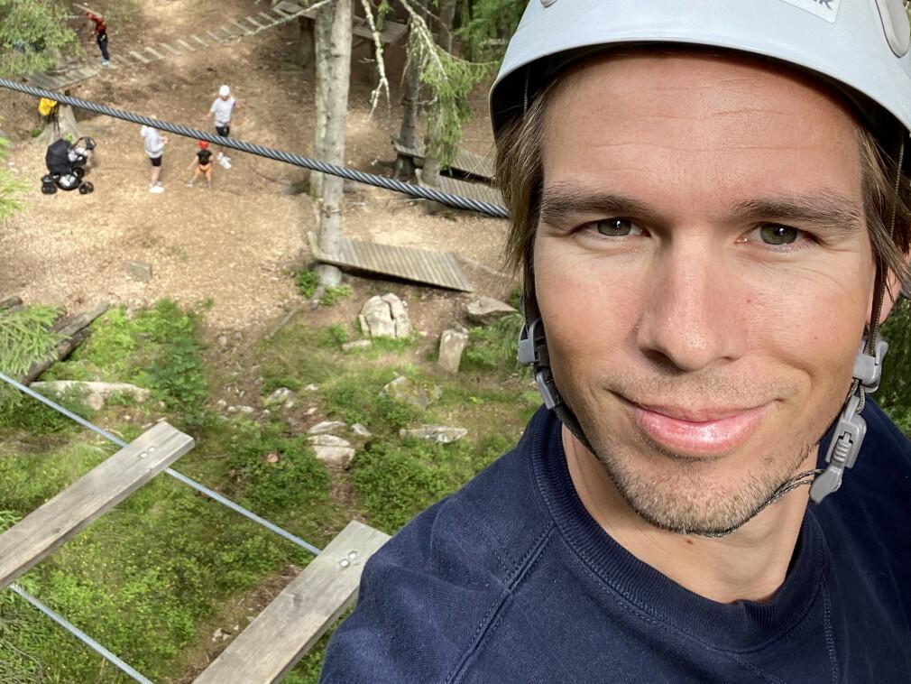 Anders Johan Holmefjord har starta i Aurum.