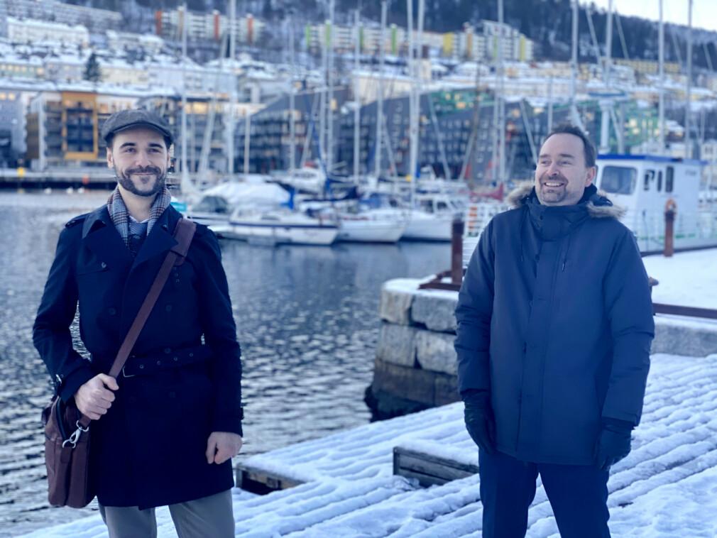 Bjørn Bredesen og Trond-Egil Hegerstrøm starter i Webstep i Bergen.