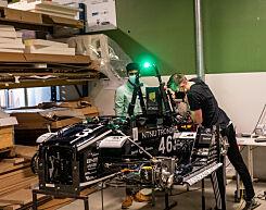 image: Sånn bygger NTNU-studenter selvkjørende racer-elbiler