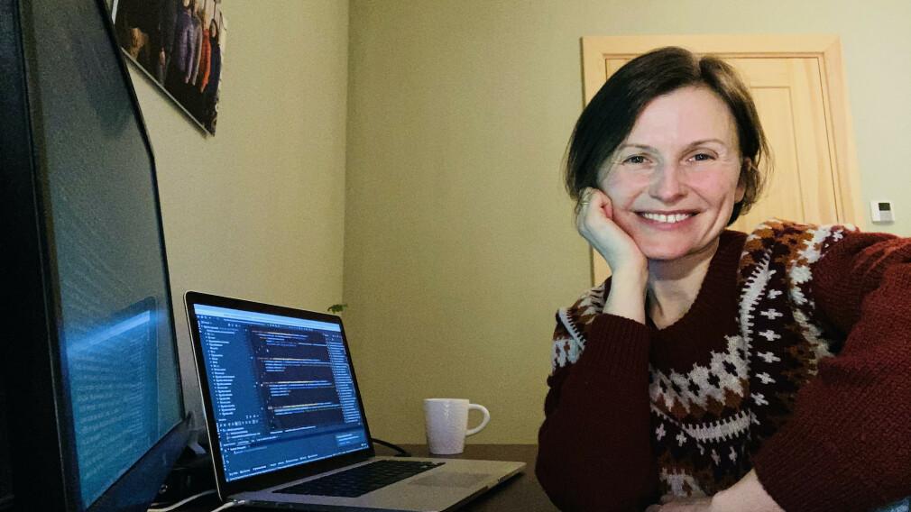Lene Hallen Wasskog er selvstendig konsulent, og jobber nå for TINE, med blant annet en storfe-database. 📸: Privat