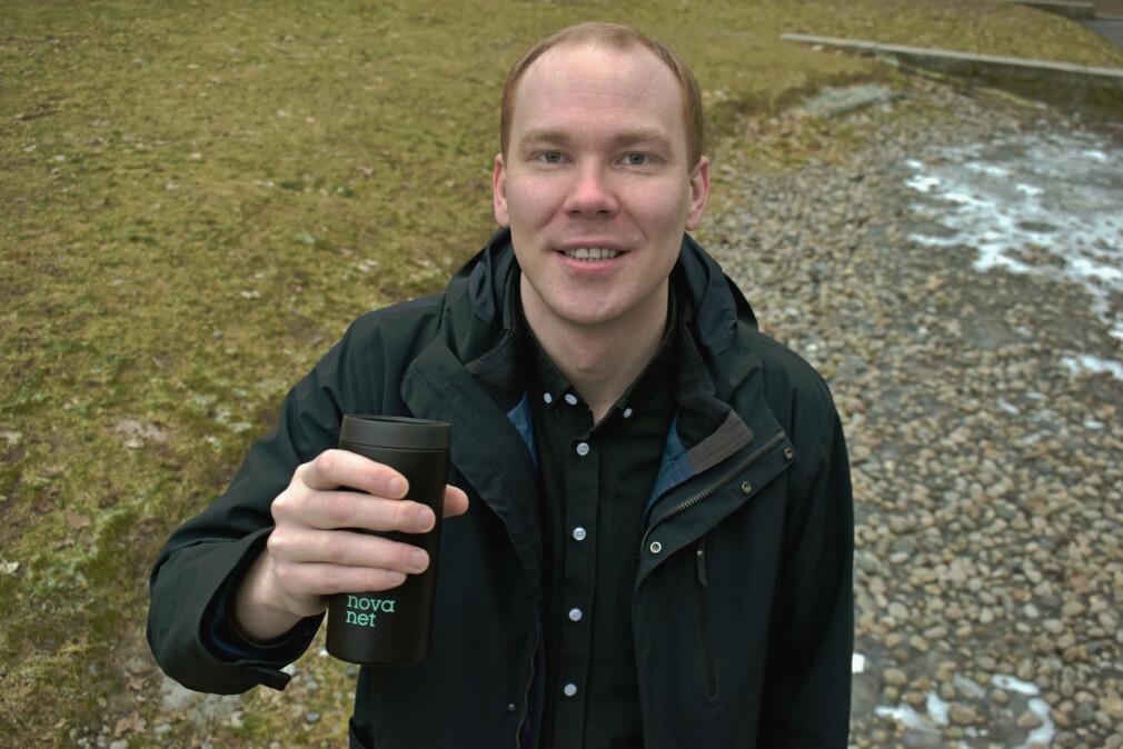 Sævar Thorisson (30) starter i Novanet.