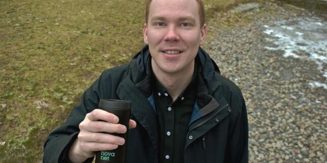 image: Sævar Thorisson (30) fra ice til Novanet - for å jobbe i ice