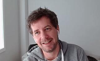 Redaksjonell utvikler Jarle Grivi Brenna i VG. 📸: kode24-timen