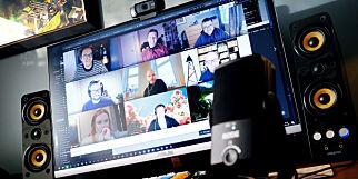 image: Én av tre misfornøyd med videomøter og samarbeid på hjemmekontor
