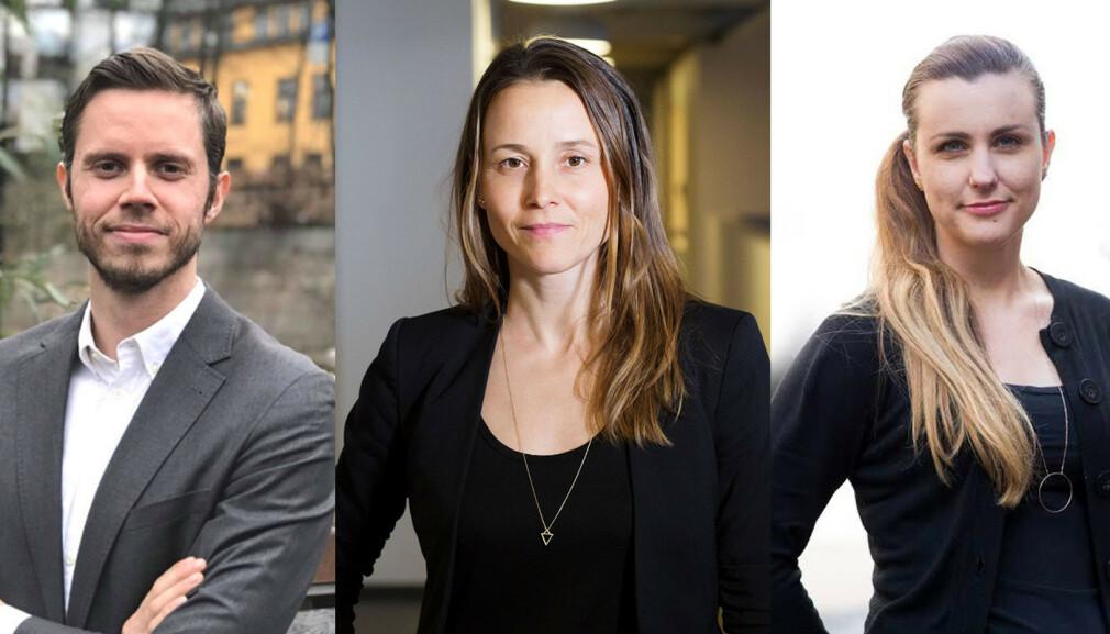 Edvard Nordbakken i Webstep, Marianne Wahlstrøm i Novanet og Randi BB Govertsen i Netlife har alle gått over til digitale intervjuer i løpet av 2020.