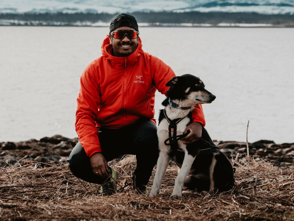 William V. Sivalingam går fra Bouvet til Itera. Han skal jobbe remote for Oslo-selskapet, fra Tromsø. 📸: Privat