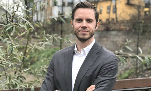 Edvard Nordbakken i Webstep har startet med digital velkomstkomité. 📸: Privat