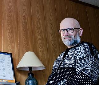 Trond Hekne er en av syv utviklere som fortsatt jobber med Cobol-systemet Infotrygd i NAV. 📸: NAV