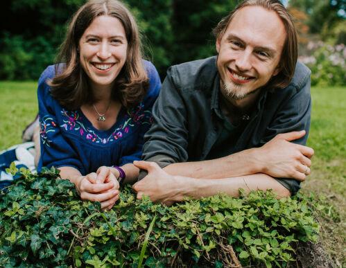 image: Clare og Christer koder på Twitch hver uke