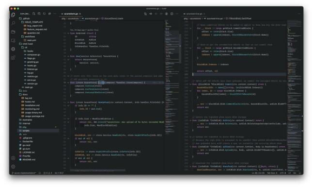 """Ole-Martin Bratteng: """"VS Code med ett tilpasset theme som jeg portet over fra ST3"""""""