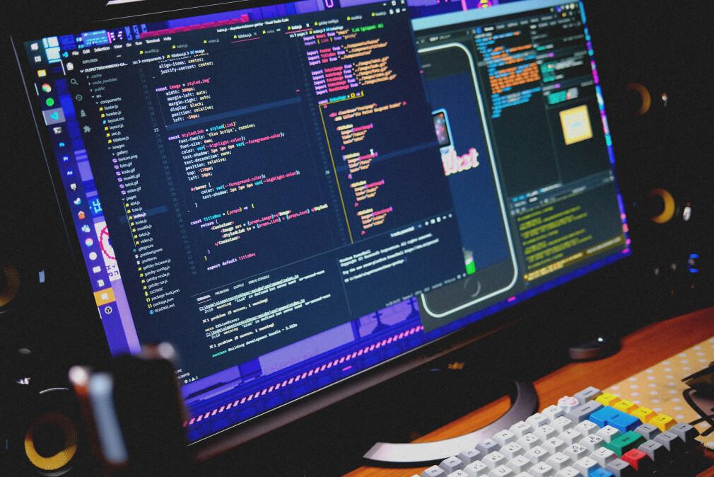 VS Code med Horizon Bold-tema, Seti-filikoner, Material produktikoner og standard font. Sånn ser min editor ut. 📸: Ole Petter Baugerød Stokke