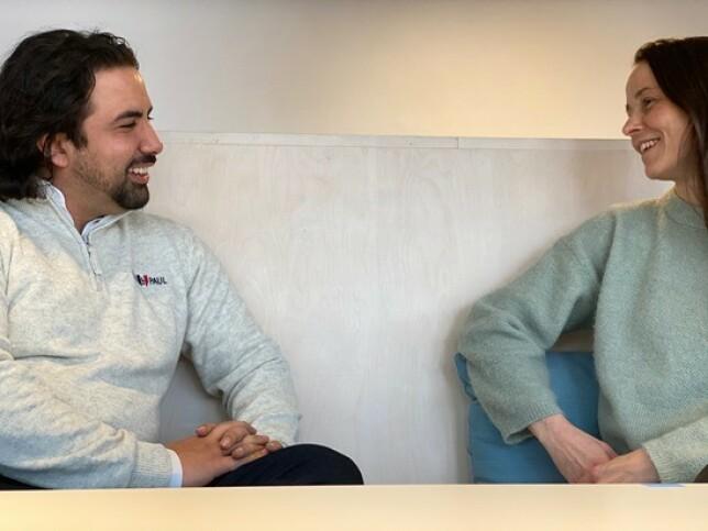 I dag hadde Shad Khel sin første dag i ny jobb. - Vi er svært glade for å få Shad med på laget, og ønsker ham hjertelig velkommen! sier daglig leder Marianne Wahlstrøm i Novanet. 📸: Novanet