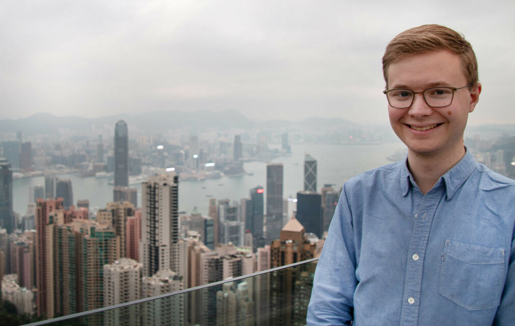 """Han Kristian Henriksen jobber til daglig som utvikler i Bekk og er i tillegg ansvarlig for deres """"bootcamp"""" for nye ansatte. 📸: Privat"""