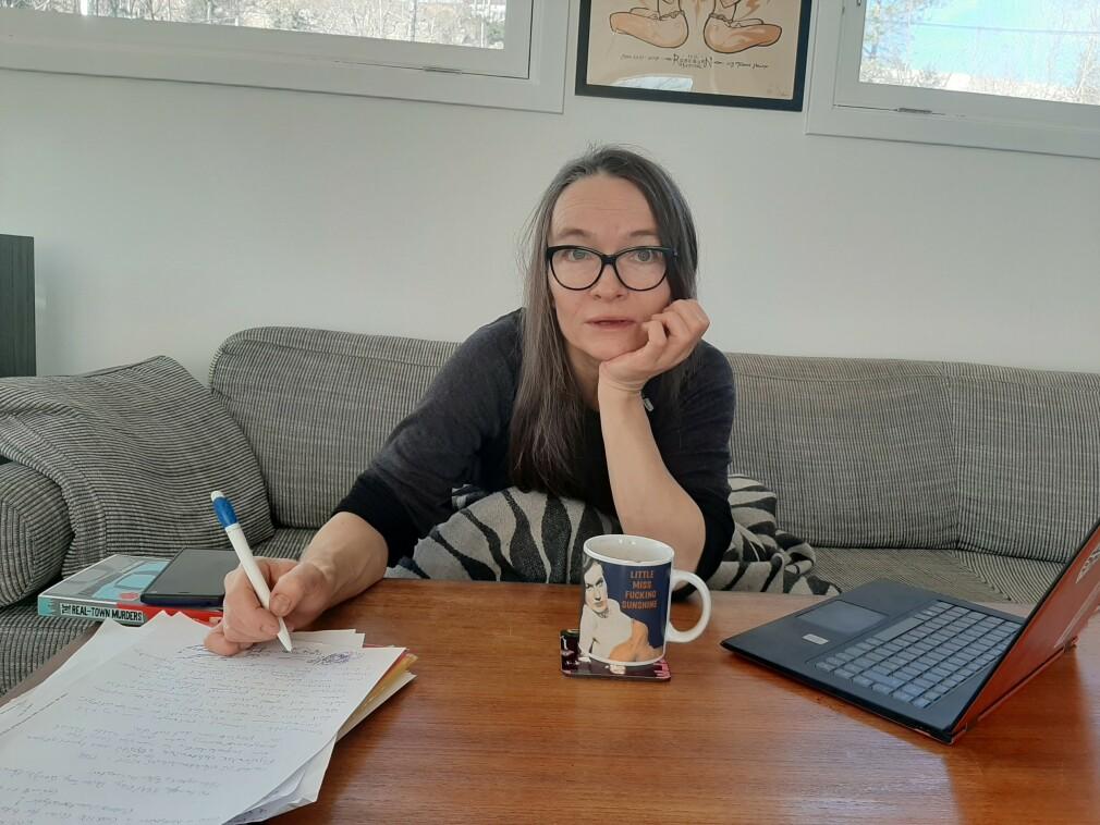 Ann-Karin Kihle har jobba som utvikler i snart 25 år, og er i dag senior programvare-utvikler i Thales. 📸: Privat