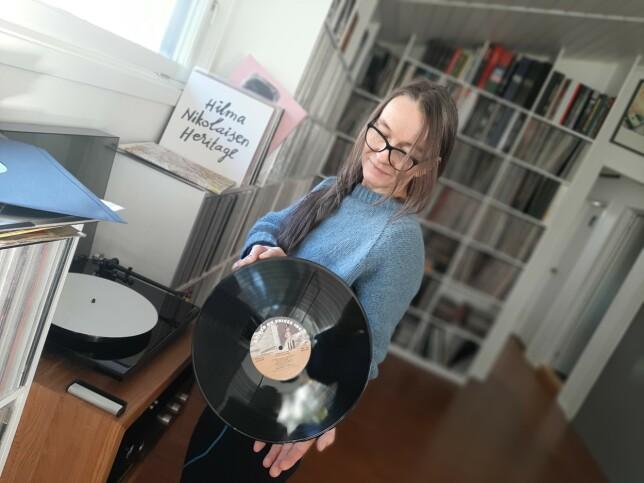 Ann-Karin Kihle er godt over snittet glad i musikk. 📸: Privat