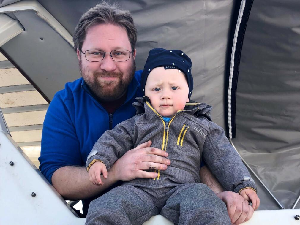 - På fritiden er jeg mye sammen med mine to barn på 2 og 4 år, som er alt for meg, forteller Audun Frøysaa i Epinova.