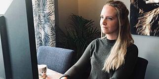 image: Caroline (26) må lære opp nye ansatte i React