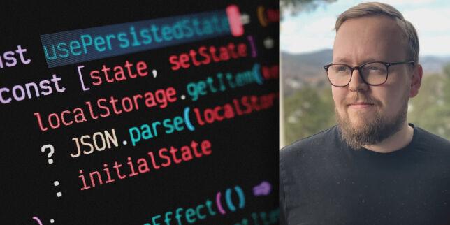 image: Sånn lagrer du state lokalt i React - uten cookie