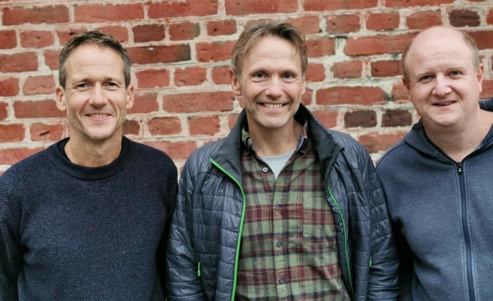 Forbokstavene i fornavnene til Geir Solid, Eskil Domben og Terje Kolderup gir navn til utviklerskolen de driver sammen; GET Academy. 📸: Privat